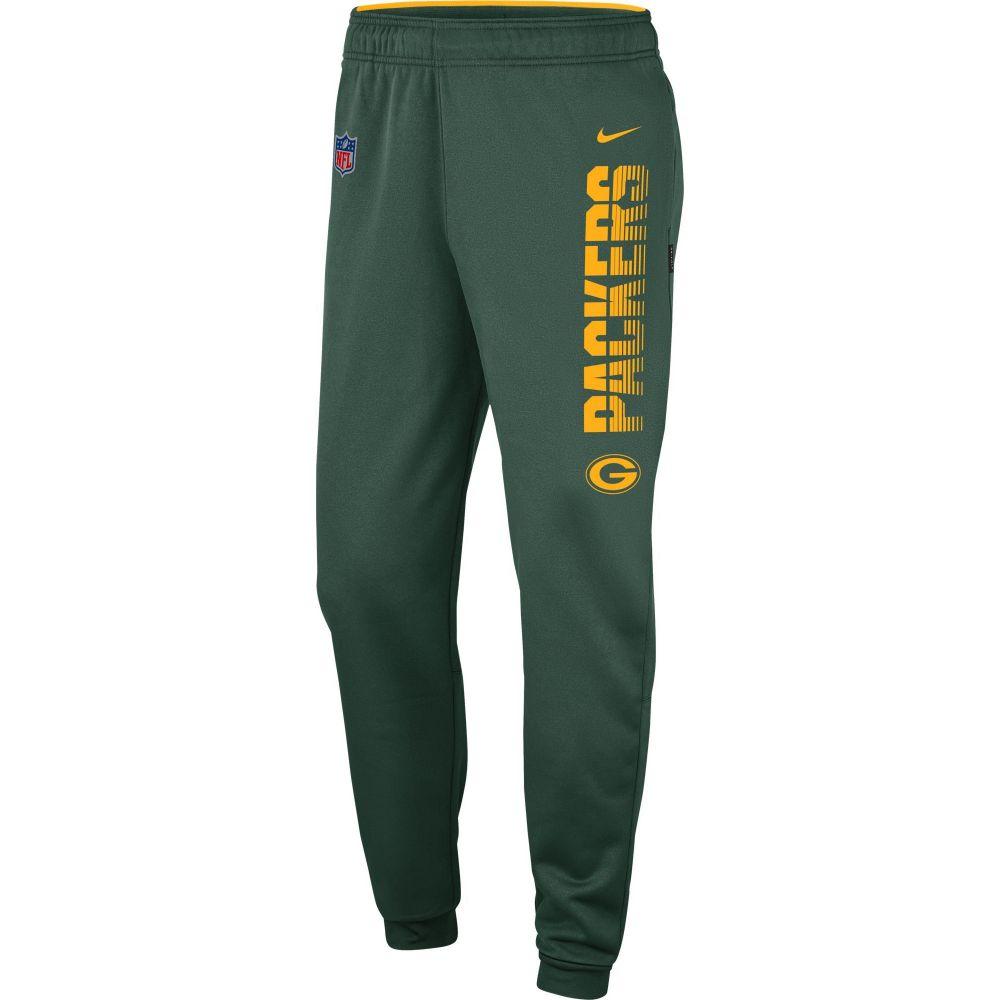 ナイキ Nike メンズ フィットネス・トレーニング ボトムス・パンツ【Green Bay Packers Sideline Therma-FIT Performance Green Pants】
