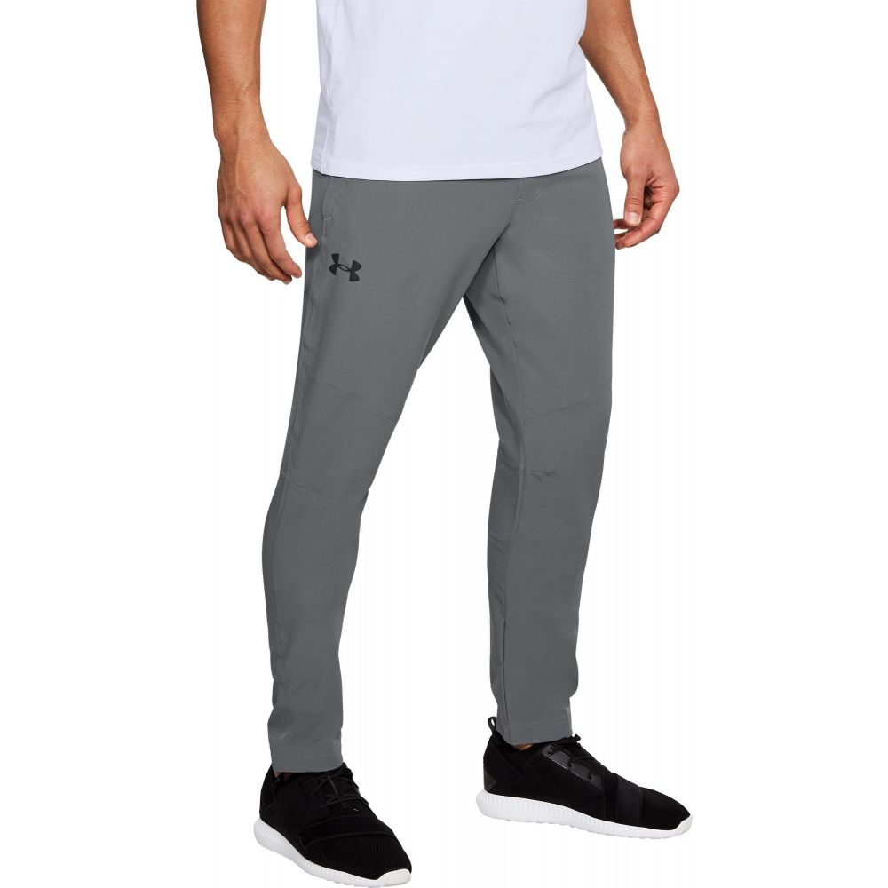 アンダーアーマー Under Armour メンズ ボトムス・パンツ 【WG Woven Pants (Regular and Big & Tall)】Graphite