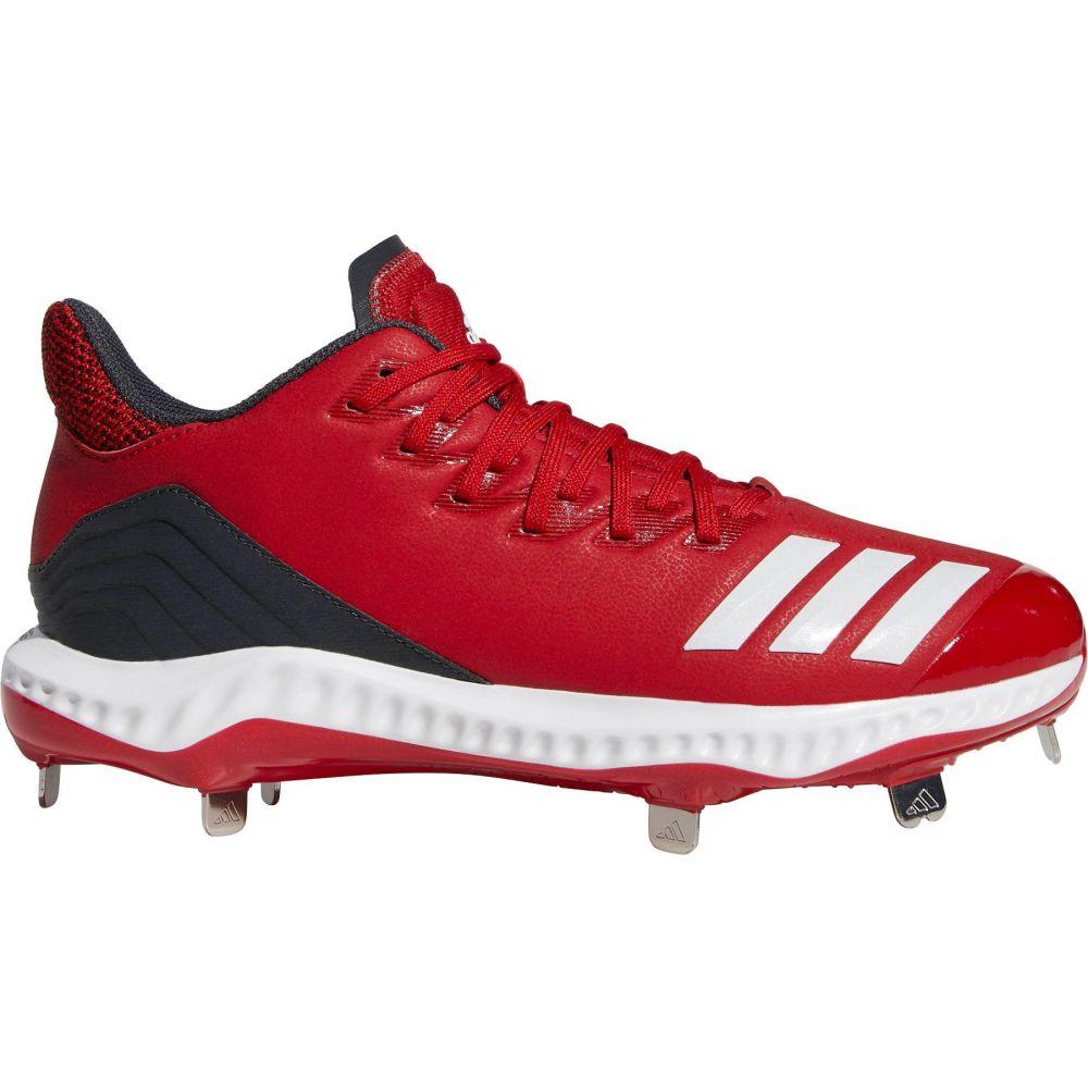アディダス adidas メンズ 野球 スパイク シューズ・靴【Icon Bounce Metal Baseball Cleats】Red/White