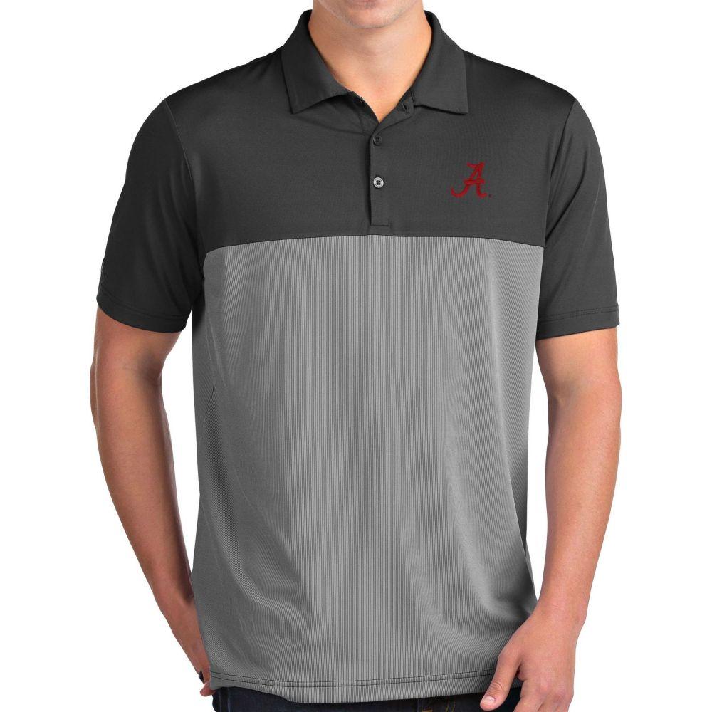 アンティグア Antigua メンズ ポロシャツ トップス【Alabama Crimson Tide Grey Venture Polo】