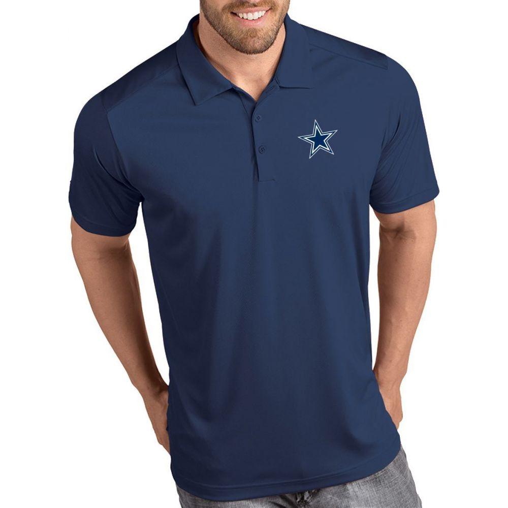 アンティグア Antigua メンズ ポロシャツ トップス【Dallas Cowboys Tribute Navy Polo】