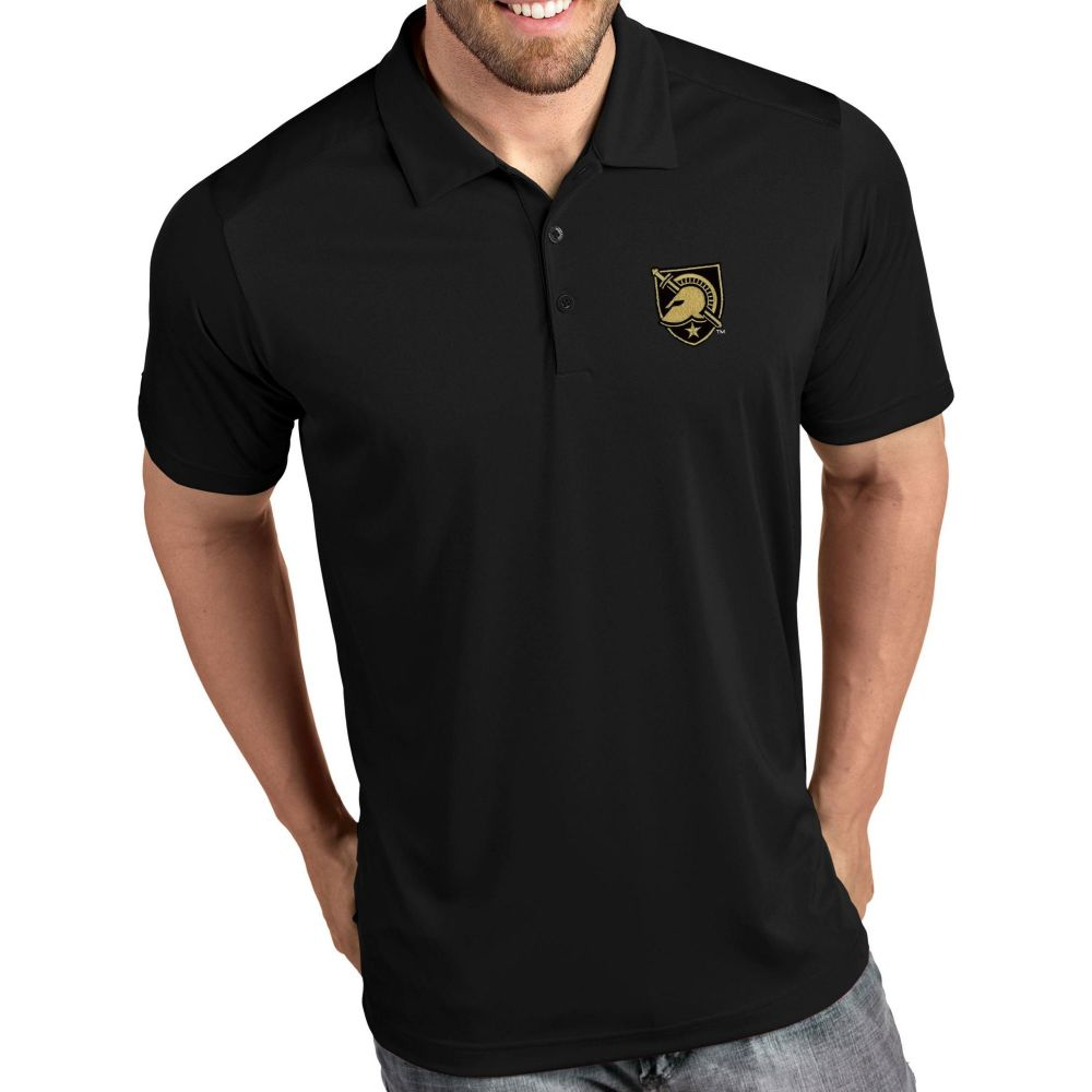 アンティグア Antigua メンズ ポロシャツ トップス【Army West Point Black Knights Tribute Performance Black Polo】