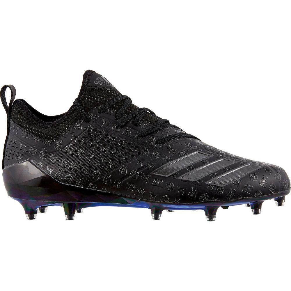 アディダス adidas メンズ アメリカンフットボール スパイク シューズ・靴【adiZERO 5-Star 7.0 Adimoji Football Cleats】Black/Black