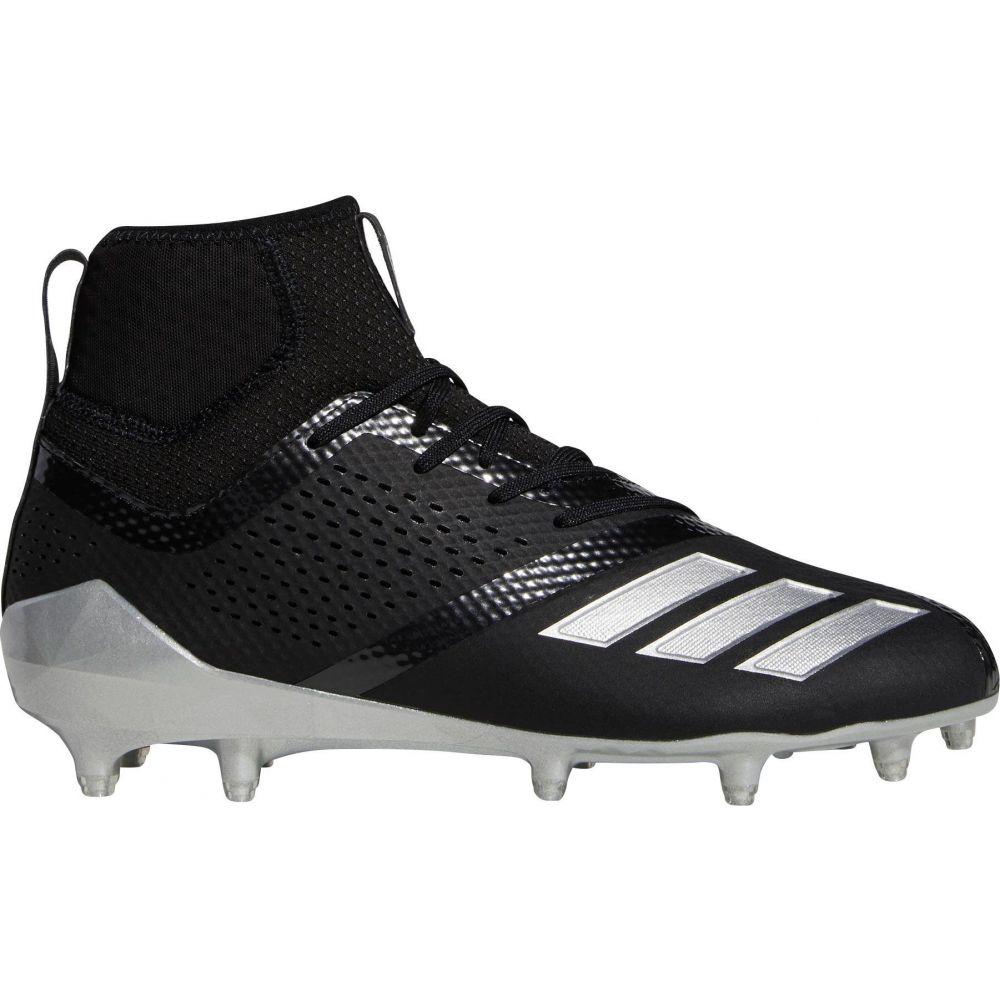 アディダス adidas メンズ ラクロス スパイク シューズ・靴【adiZERO 5-Star 7.0 Mid Lacrosse Cleats】Black/Silver