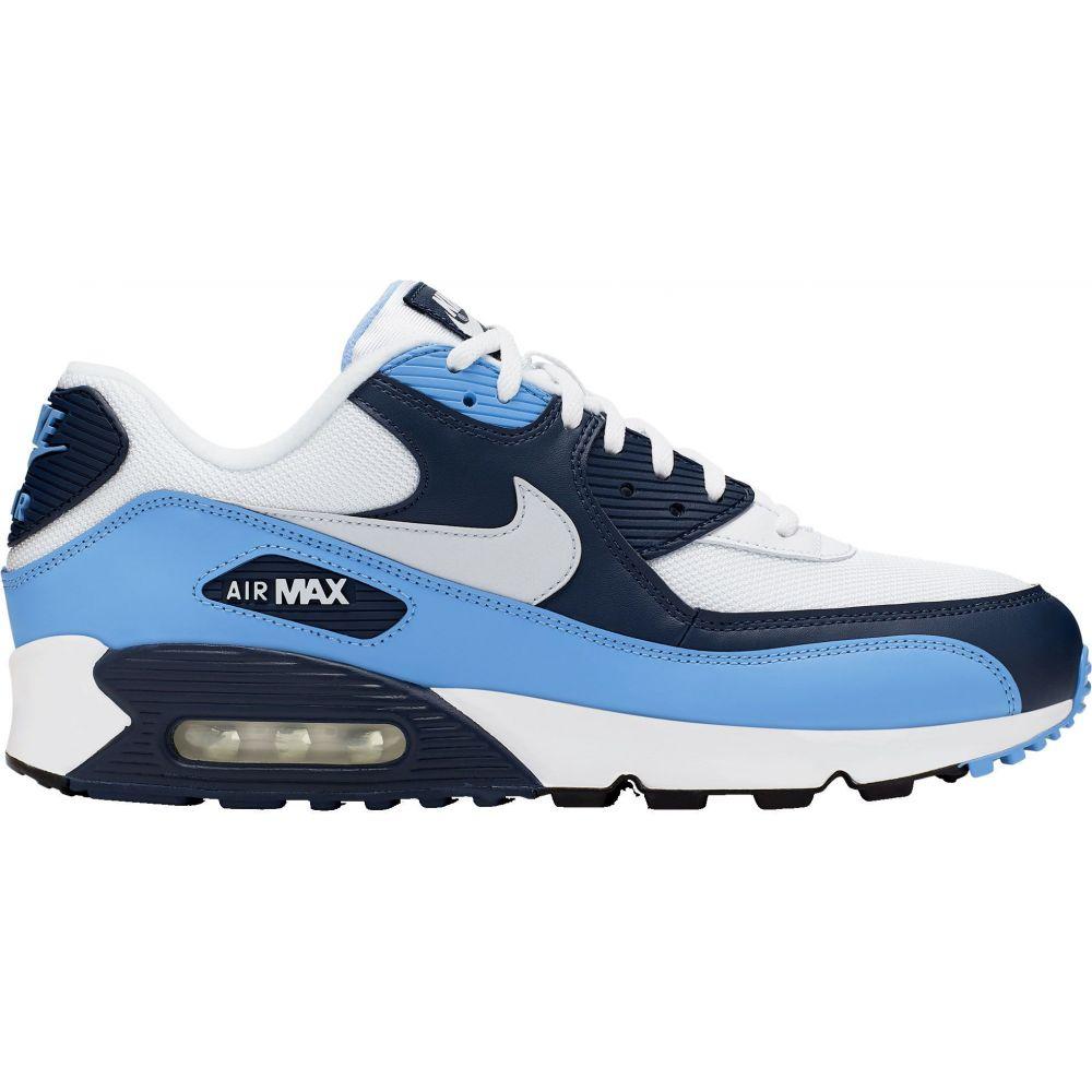ナイキ Nike メンズ スニーカー シューズ・靴【Air Max '90 Essential Shoes】White/Navy/Blue
