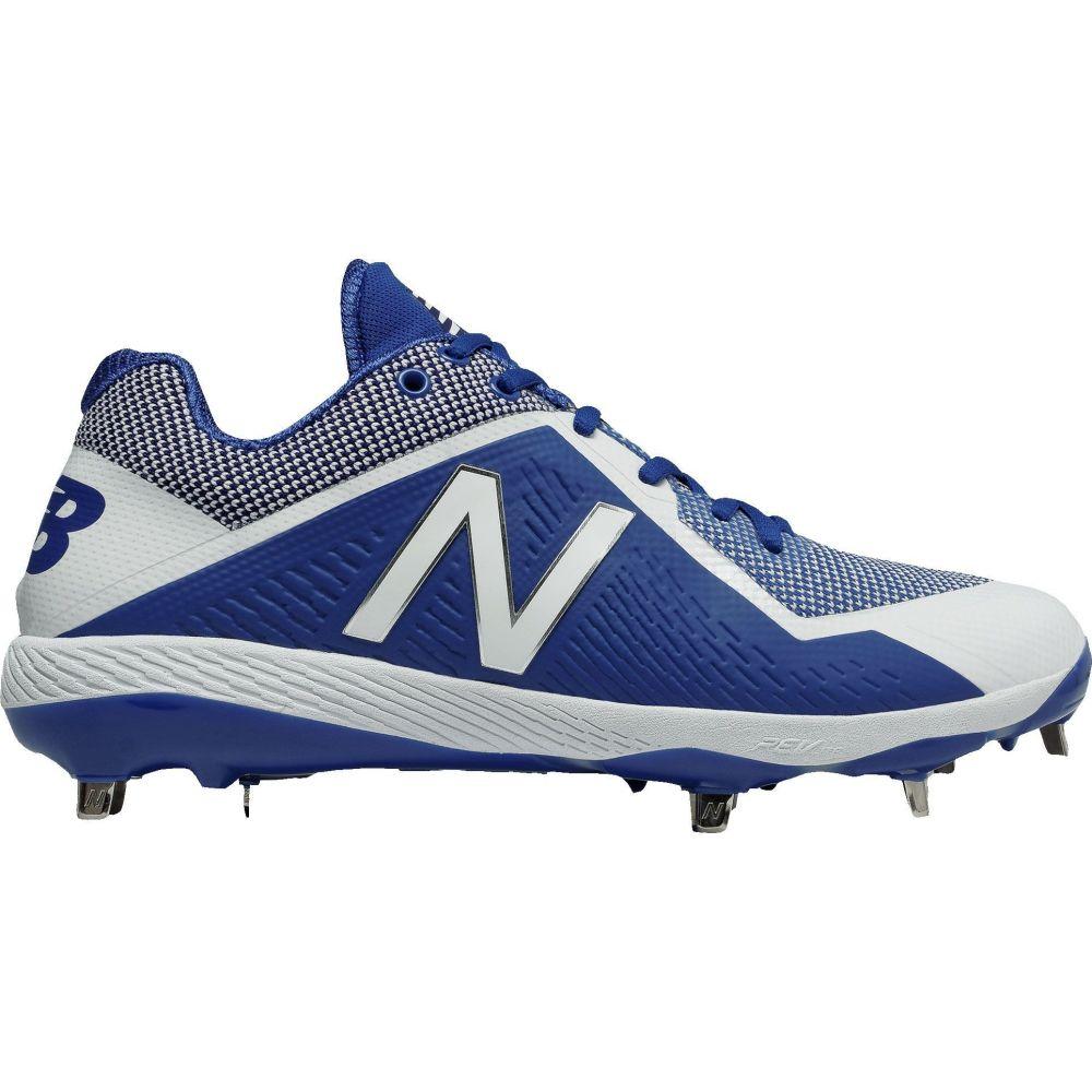 ニューバランス New Balance メンズ 野球 スパイク シューズ・靴【4040 V4 Metal Baseball Cleats】Blue/White
