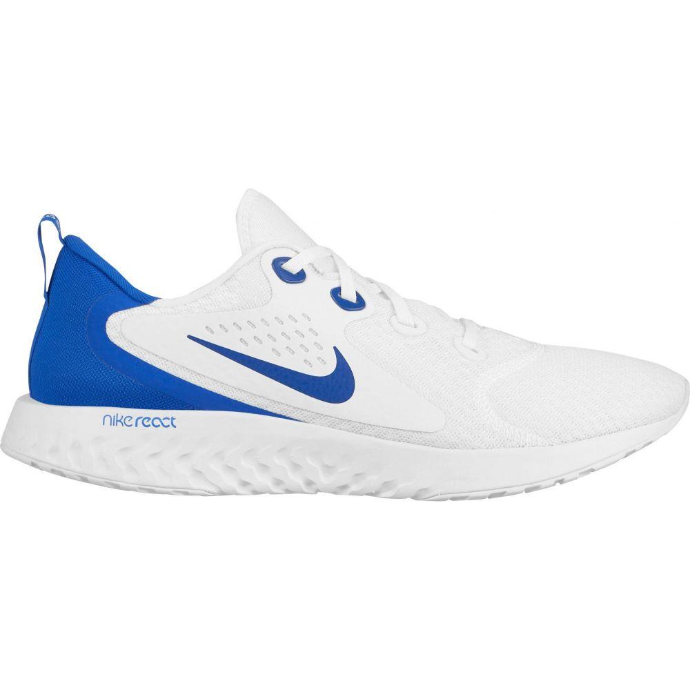 ナイキ Nike メンズ ランニング・ウォーキング シューズ・靴【Legend React Running Shoes】White/Blue