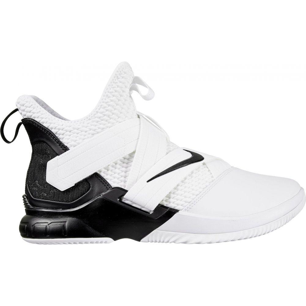 ナイキ Nike メンズ バスケットボール シューズ・靴【Zoom LeBron Soldier 12 Basketball Shoes】White/Black