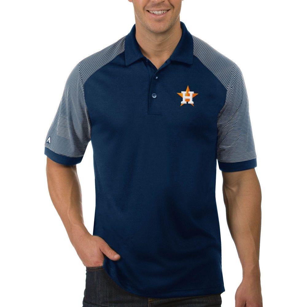 アンティグア Antigua メンズ ポロシャツ トップス【Houston Astros Engage Navy Polo】