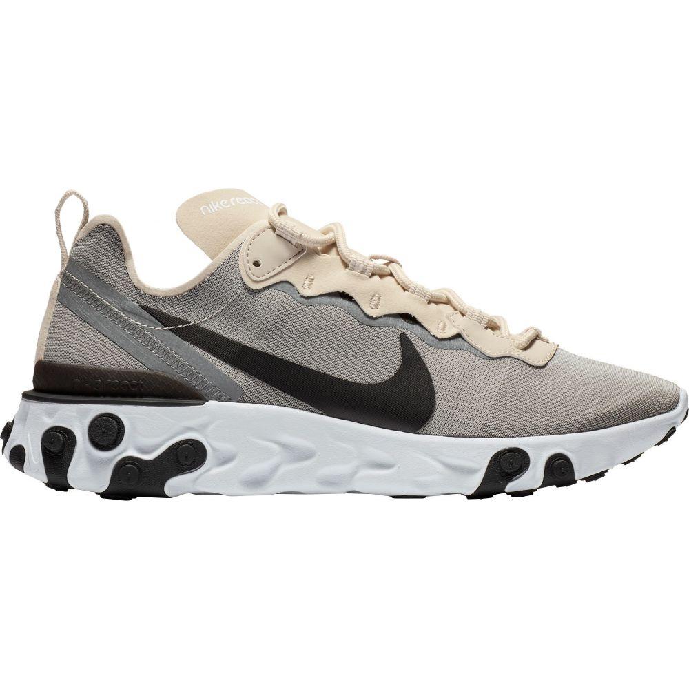 ナイキ Nike メンズ スニーカー シューズ・靴【React Element 55 Shoes】Black/Cool Grey/White