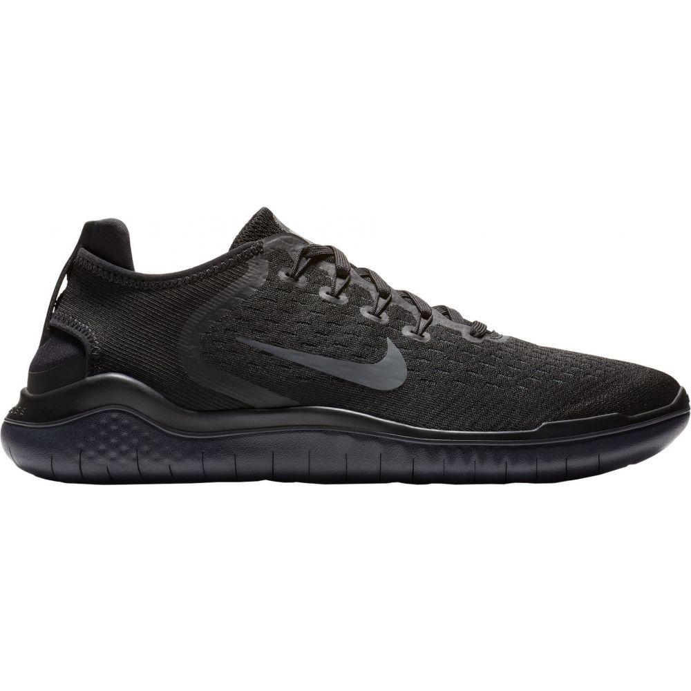 ナイキ Nike メンズ ランニング・ウォーキング シューズ・靴【Free RN 2018 Running Shoes】Black/Black/Grey