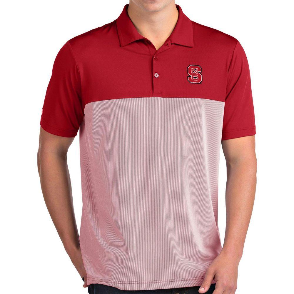 アンティグア Antigua メンズ ポロシャツ トップス【NC State Wolfpack Red Venture Polo】