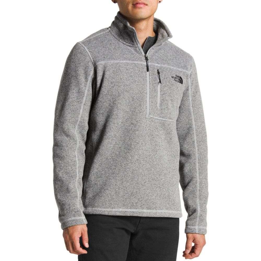 ザ ノースフェイス The North Face メンズ フリース トップス【Gordon Lyons 1/4 Zip Fleece Pullover】Tnf Medium Grey Heather