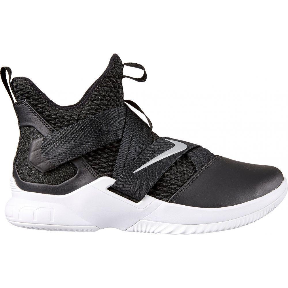 ナイキ Nike メンズ バスケットボール シューズ・靴【Zoom LeBron Soldier 12 Basketball Shoes】Black/Silver