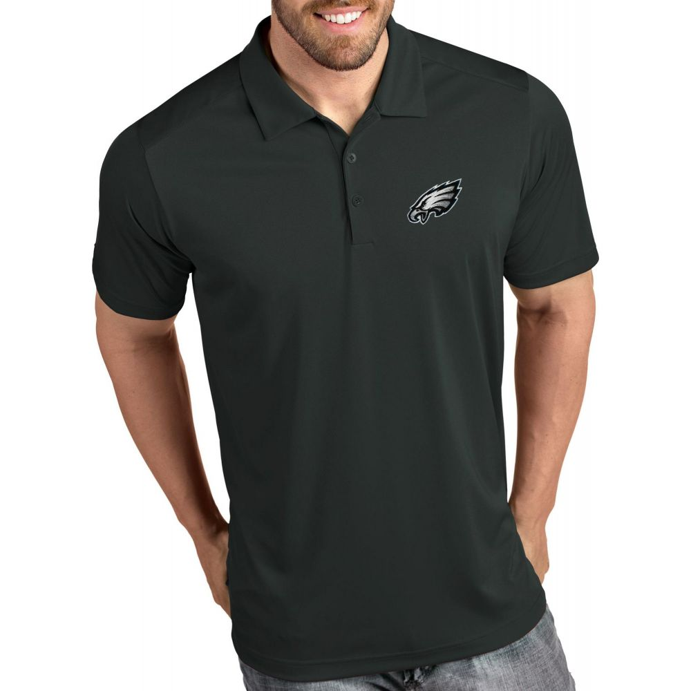 アンティグア Antigua メンズ ポロシャツ トップス【Philadelphia Eagles Tribute Grey Polo】