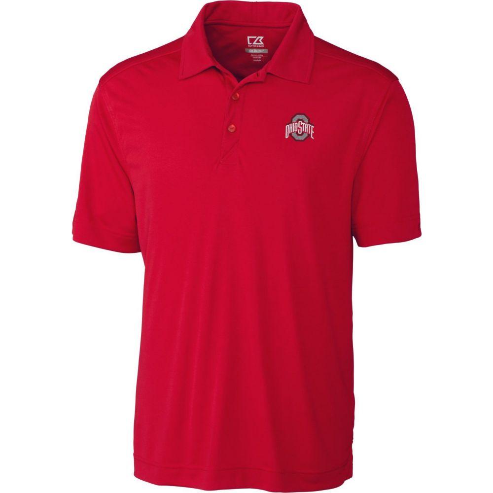 カッター&バック Cutter & Buck メンズ ポロシャツ トップス【Ohio State Buckeyes Scarlet Northgate Polo】