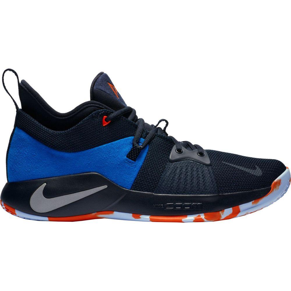 ナイキ Nike メンズ バスケットボール シューズ・靴【PG 2 Basketball Shoes】Black/Navy