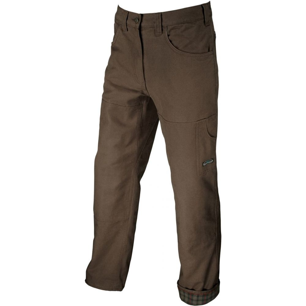アーバーウェア Arborwear メンズ ボトムス・パンツ 【Flannel Lined Originals Pants】Brown