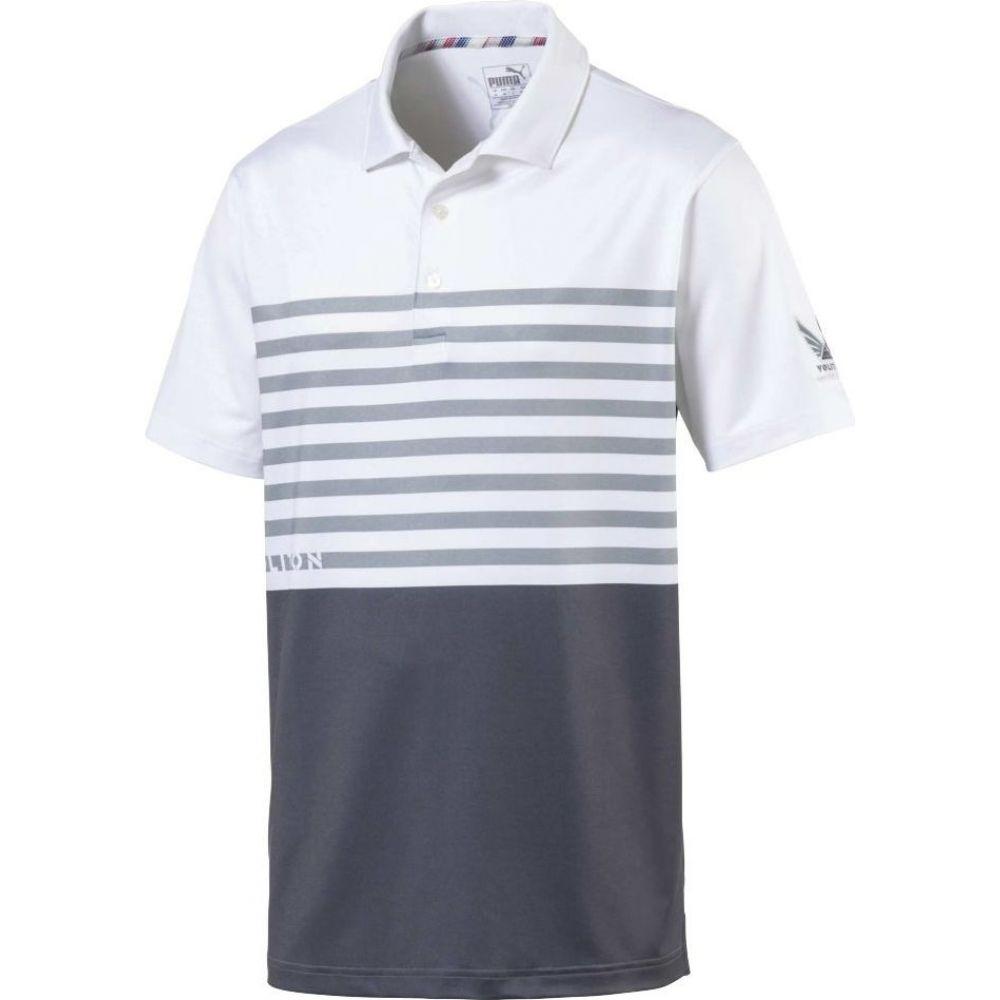 プーマ PUMA メンズ ゴルフ ポロシャツ トップス【Volition CK6 Flag Golf Polo】Quiet Shade
