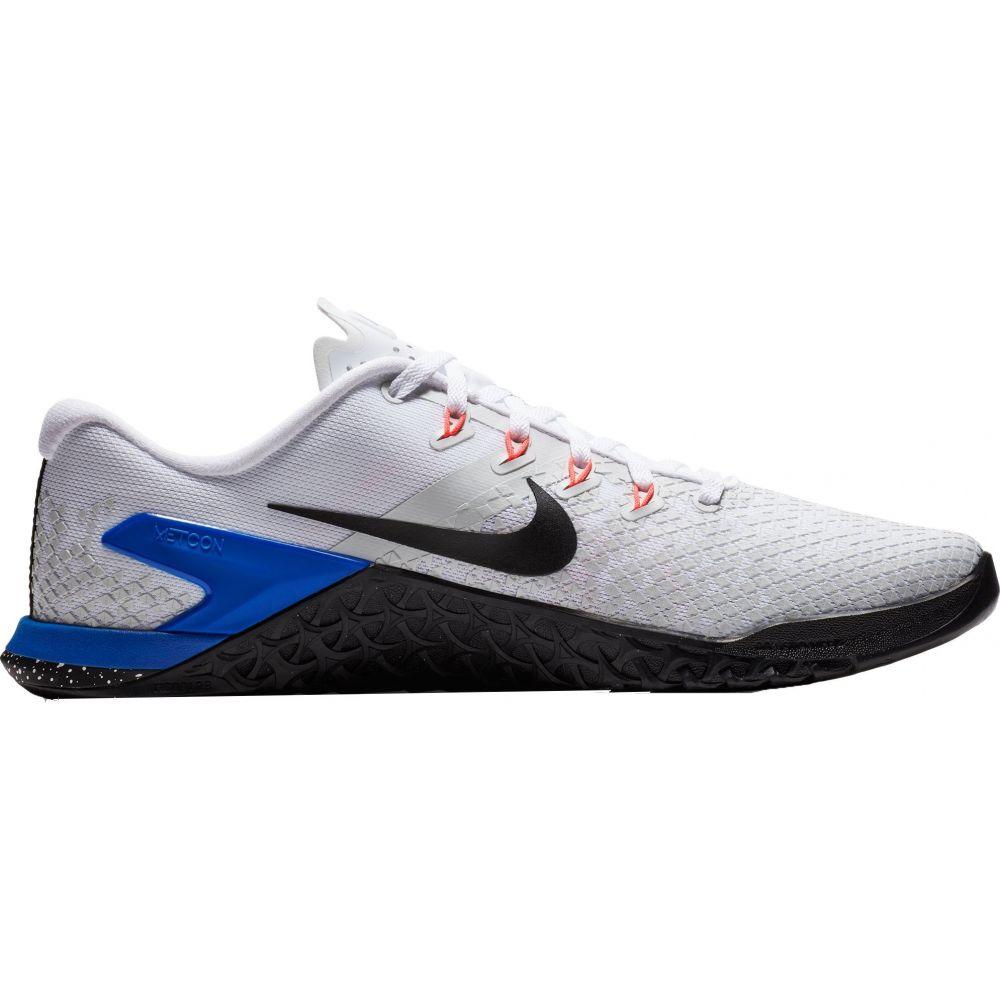 ナイキ Nike メンズ フィットネス・トレーニング シューズ・靴【Metcon 4 XD Training Shoes】White/Blue/Black
