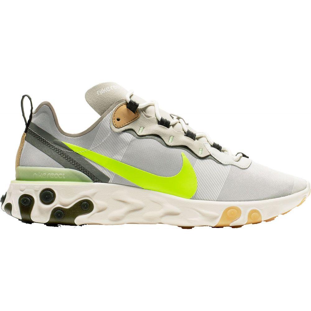 ナイキ Nike メンズ スニーカー シューズ・靴【React Element 55 Shoes】Green/Volt