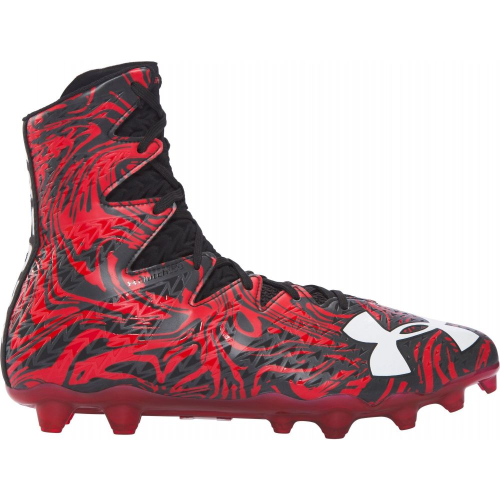アンダーアーマー Under Armour メンズ アメリカンフットボール スパイク シューズ・靴【Highlight MC Football Cleats】Black/Red