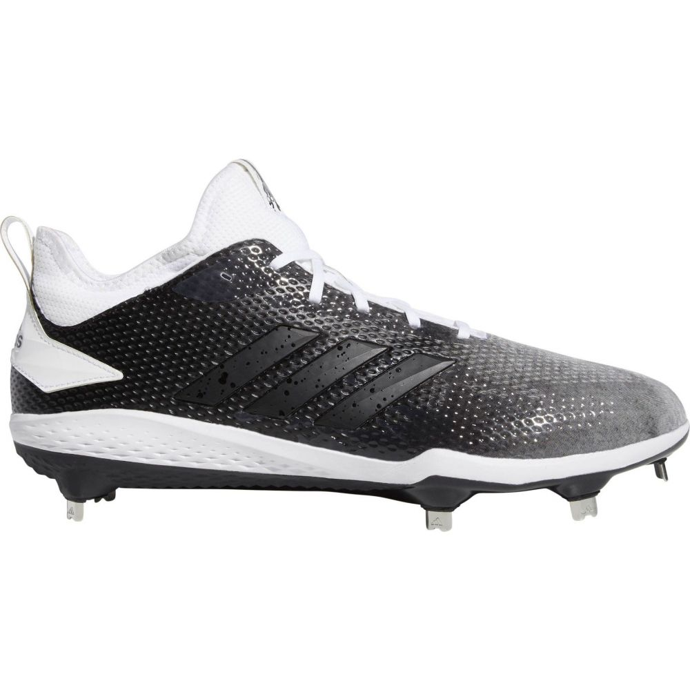 アディダス adidas メンズ 野球 スパイク シューズ・靴【adiZERO Afterburner Splash Metal Baseball Cleats】Black/White