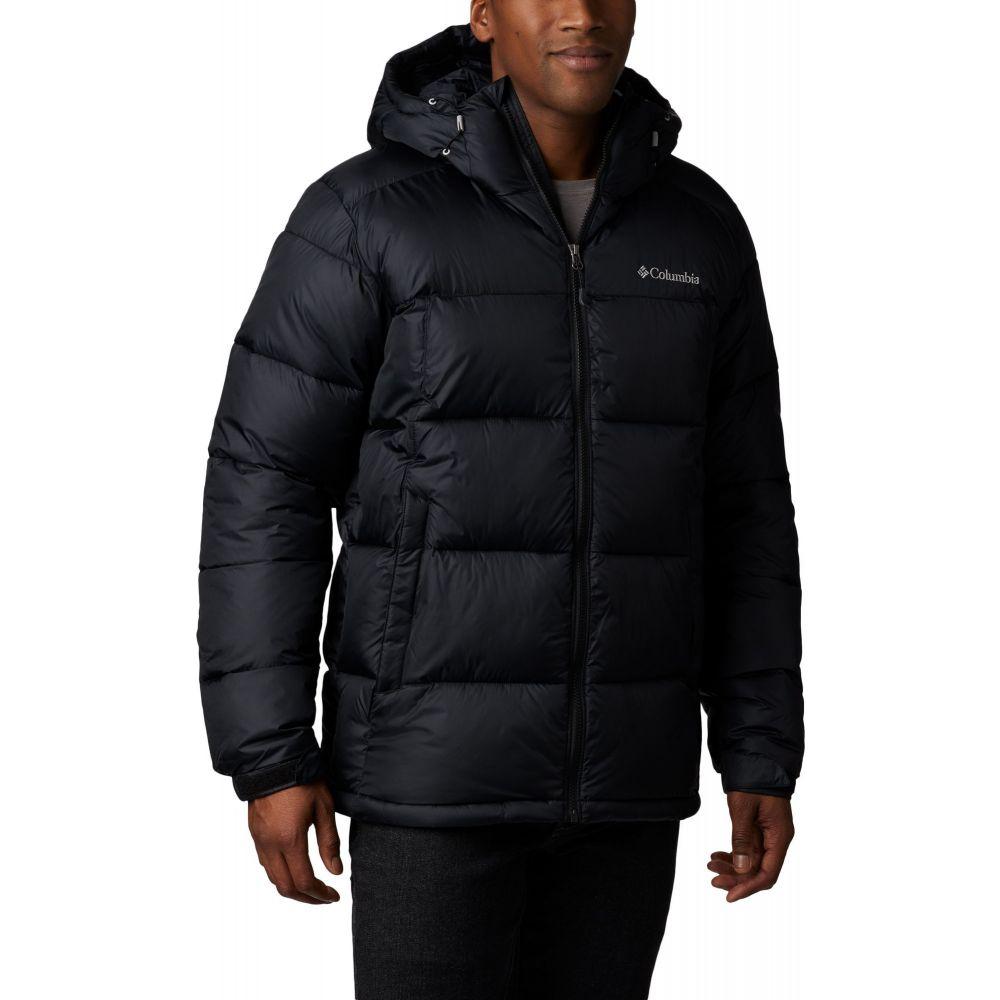 コロンビア Columbia メンズ ジャケット フード アウター【Pike Lake Hooded Jacket】Black Logo