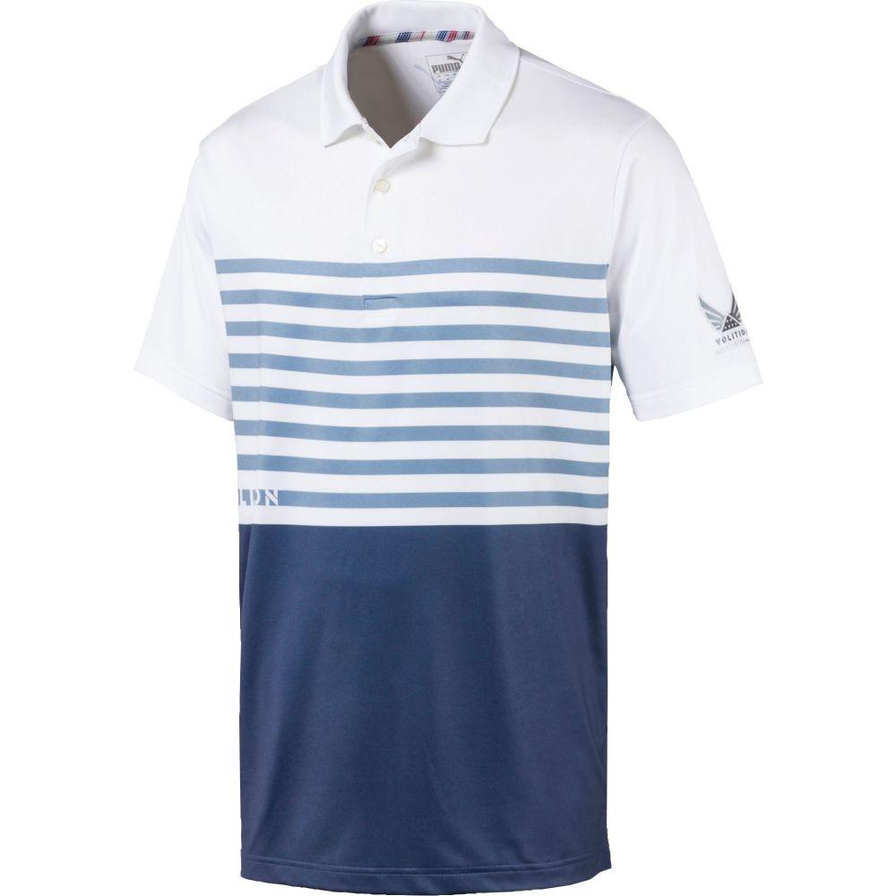 プーマ PUMA メンズ ゴルフ ポロシャツ トップス【Volition CK6 Flag Golf Polo】Vintage Indigo