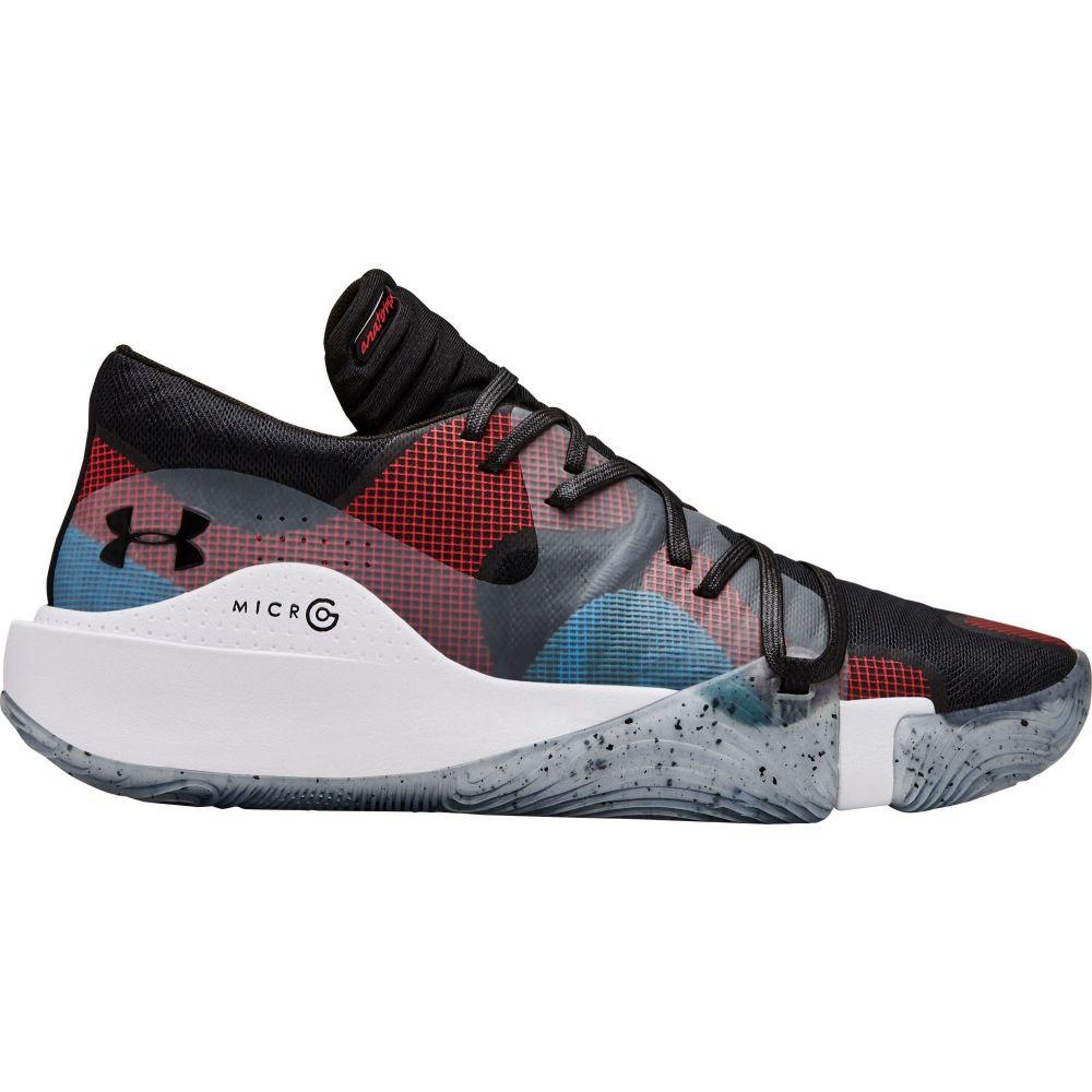 アンダーアーマー Under Armour メンズ バスケットボール シューズ・靴【Spawn Low Basketball Shoes】Black/Red/Blue