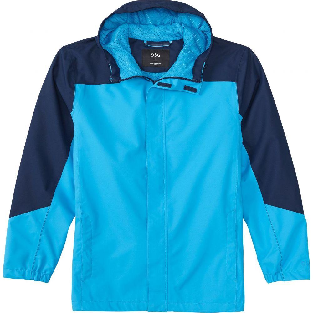 DSG メンズ レインコート アウター【Waterproof Rain Jacket】University Navy