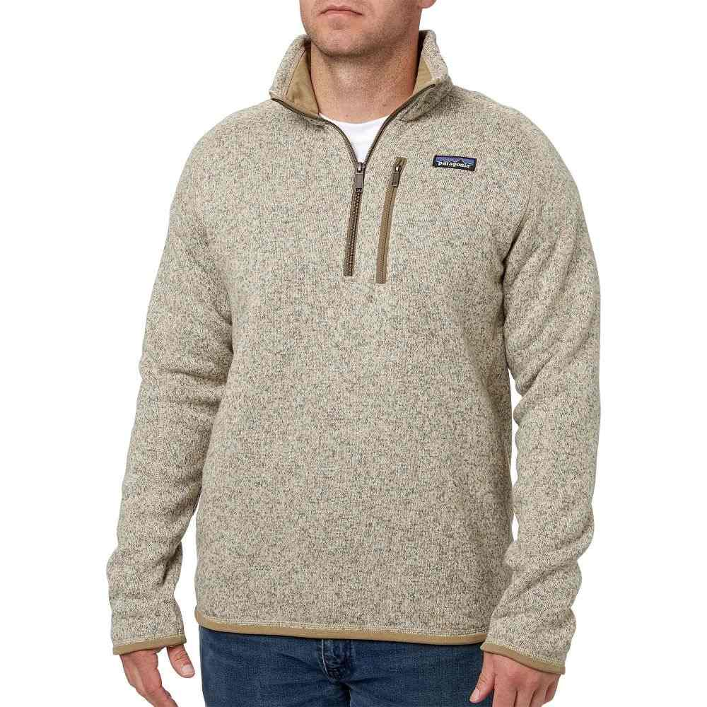 パタゴニア Patagonia メンズ フリース トップス【Better Sweater 1/4 Zip Fleece Pullover】Bleached Stone