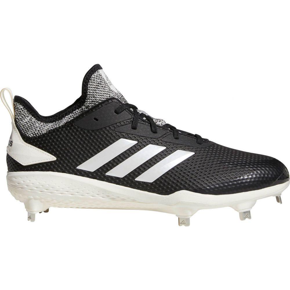 アディダス adidas メンズ 野球 スパイク シューズ・靴【adiZERO Afterburner V Metal Baseball Cleats】Black/White