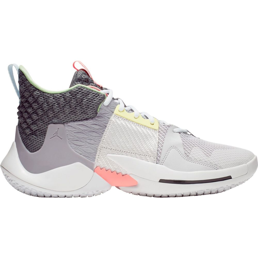 ナイキ ジョーダン Jordan メンズ バスケットボール シューズ・靴【Why Not Zer0.2 Basketball Shoes】Grey/Gunsmoke