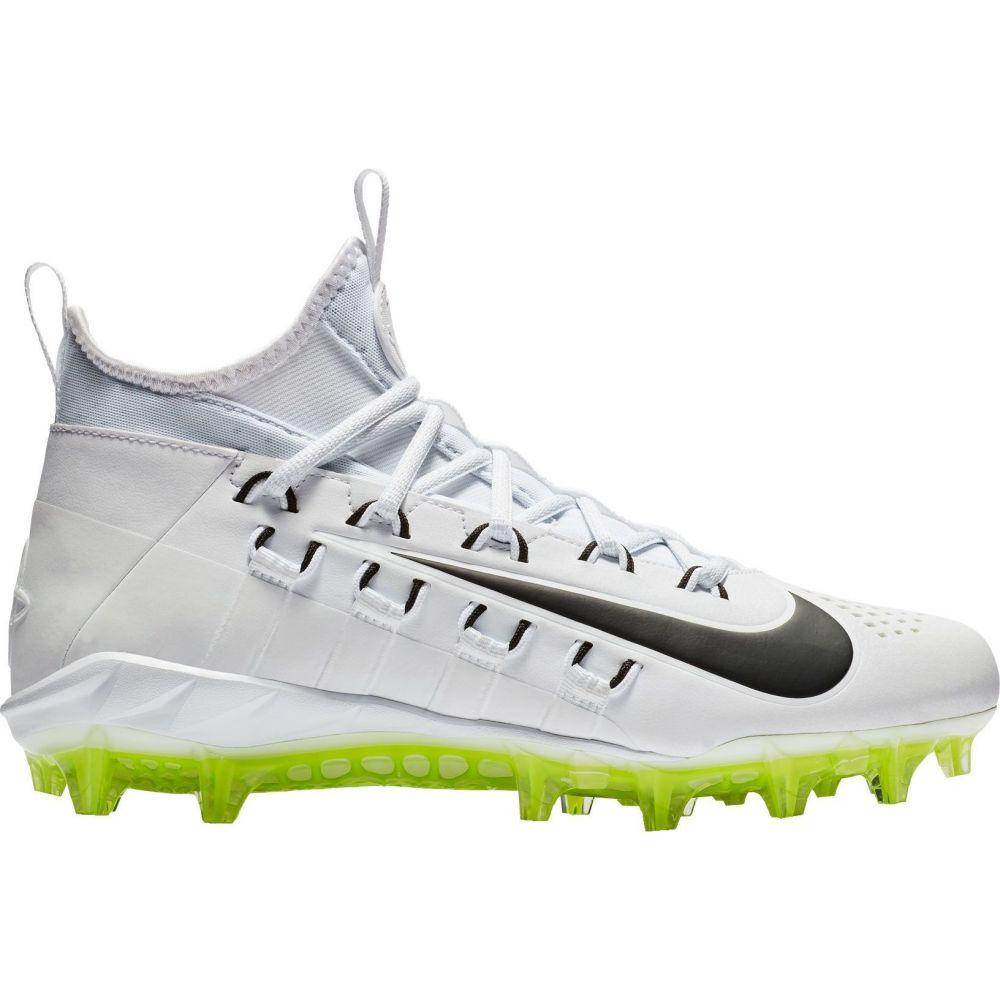 ナイキ Nike メンズ ラクロス スパイク シューズ・靴【Alpha Huarache 6 Elite Lacrosse Cleats】White/Volt