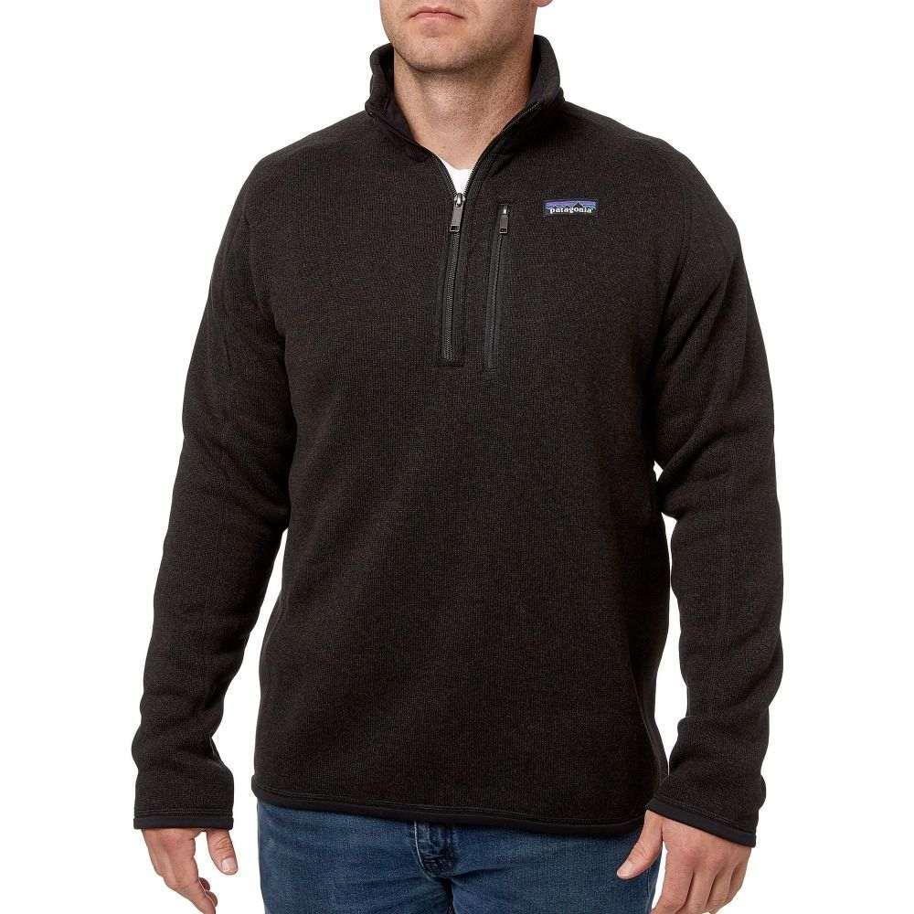 パタゴニア Patagonia メンズ フリース トップス【Better Sweater 1/4 Zip Fleece Pullover】Black