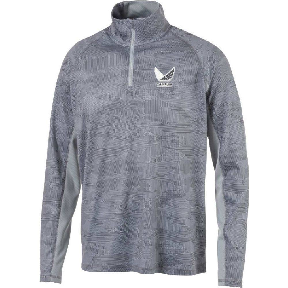プーマ PUMA メンズ ゴルフ トップス【Volition Signature Golf 1/4 Zip】Quiet Shade