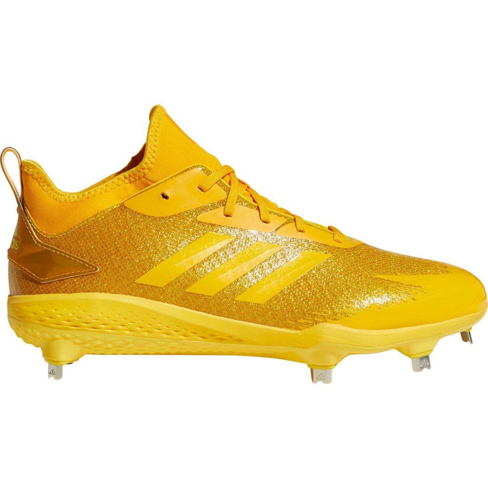 アディダス adidas メンズ 野球 スパイク シューズ・靴【adiZERO Afterburner V Dipped Metal Baseball Cleats】Yellow