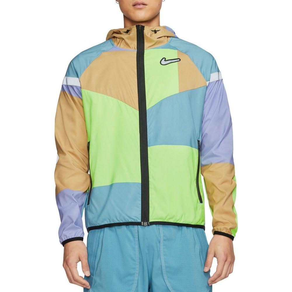 ナイキ Nike メンズ ランニング・ウォーキング ジャケット アウター【Windrunner Wild Run Jacket】Cerulean