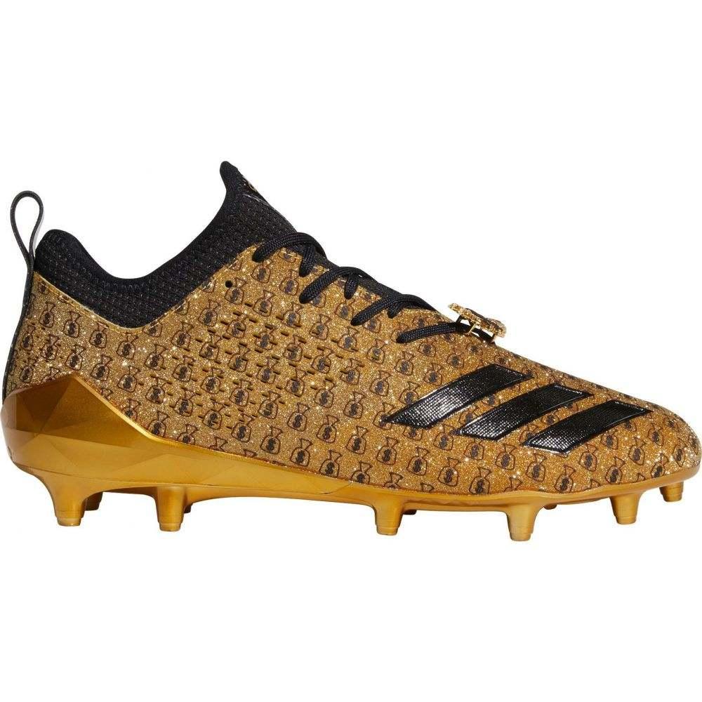 アディダス adidas メンズ アメリカンフットボール スパイク シューズ・靴【adiZERO 5-Star 7.0 Adimoji Snoop Football Cleats】Gold/Black