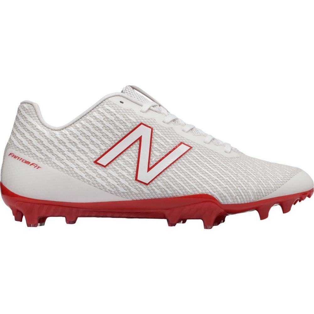 ニューバランス New Balance メンズ ラクロス スパイク シューズ・靴【Burn X Lacrosse Cleats】White/Red