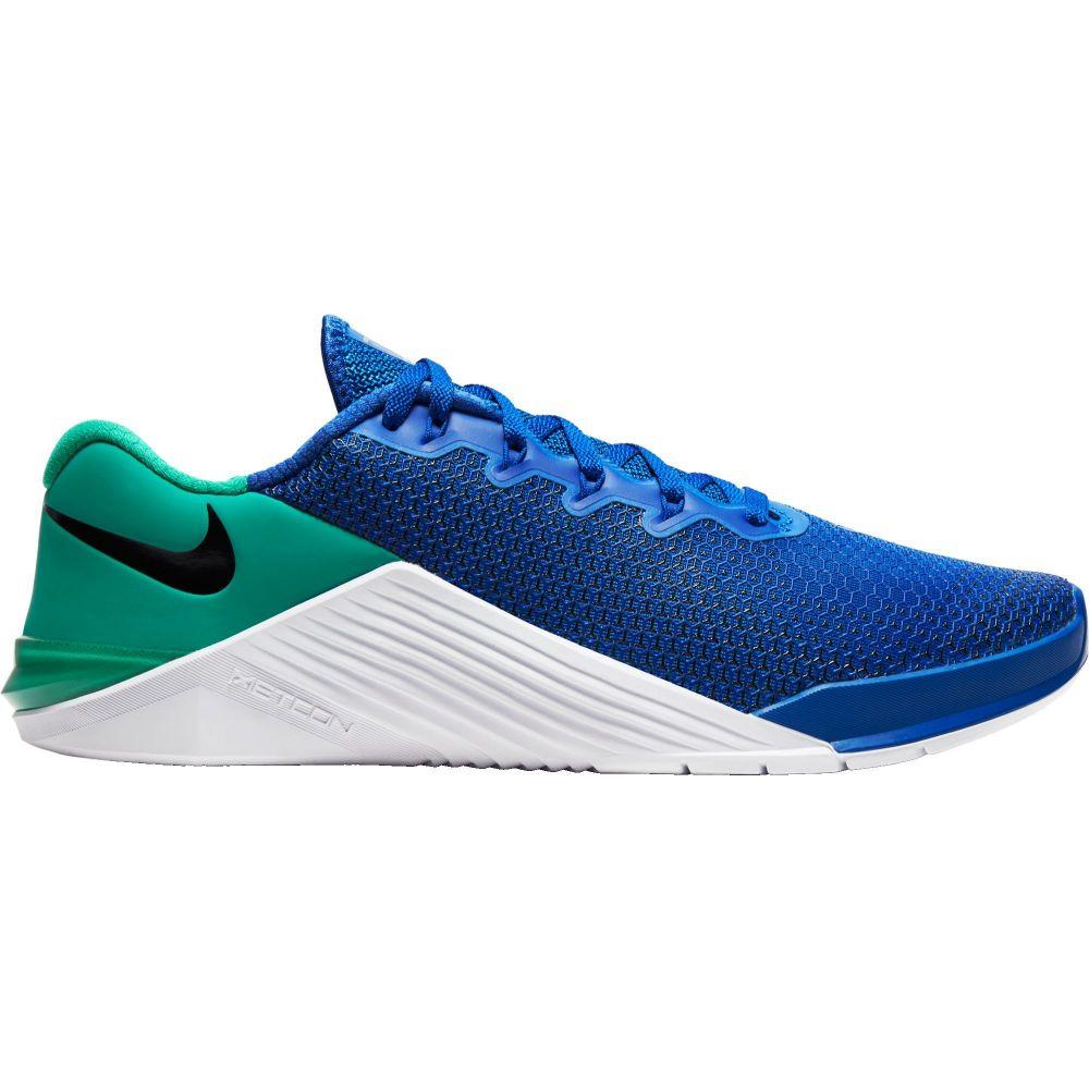 ナイキ Nike メンズ フィットネス・トレーニング シューズ・靴【Metcon 5 Training Shoes】Blue/Green/White