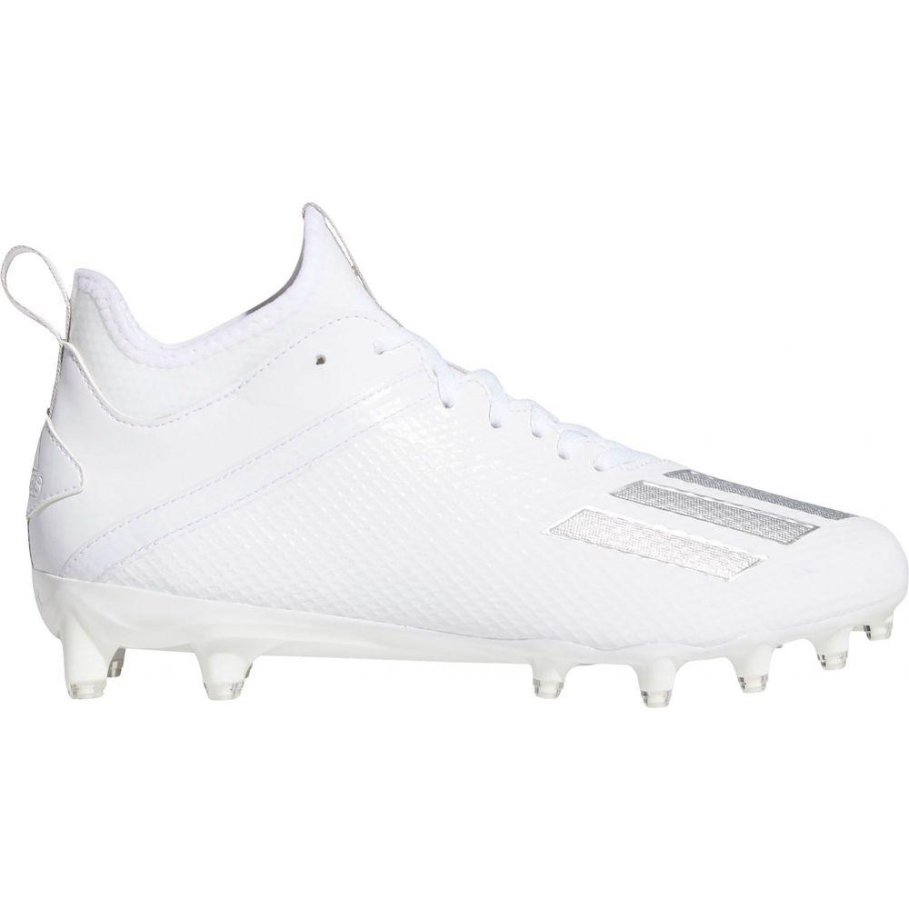 アディダス adidas メンズ アメリカンフットボール スパイク シューズ・靴【adizero Scorch Football Cleats】White/Silver
