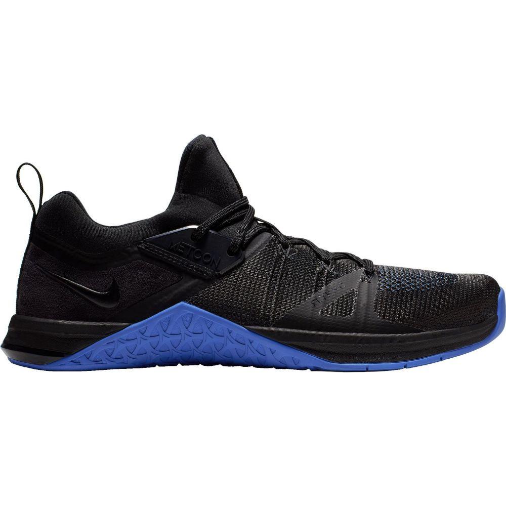 ナイキ Nike メンズ フィットネス・トレーニング シューズ・靴【Metcon Flyknit 3 Training Shoes】Black/Blue