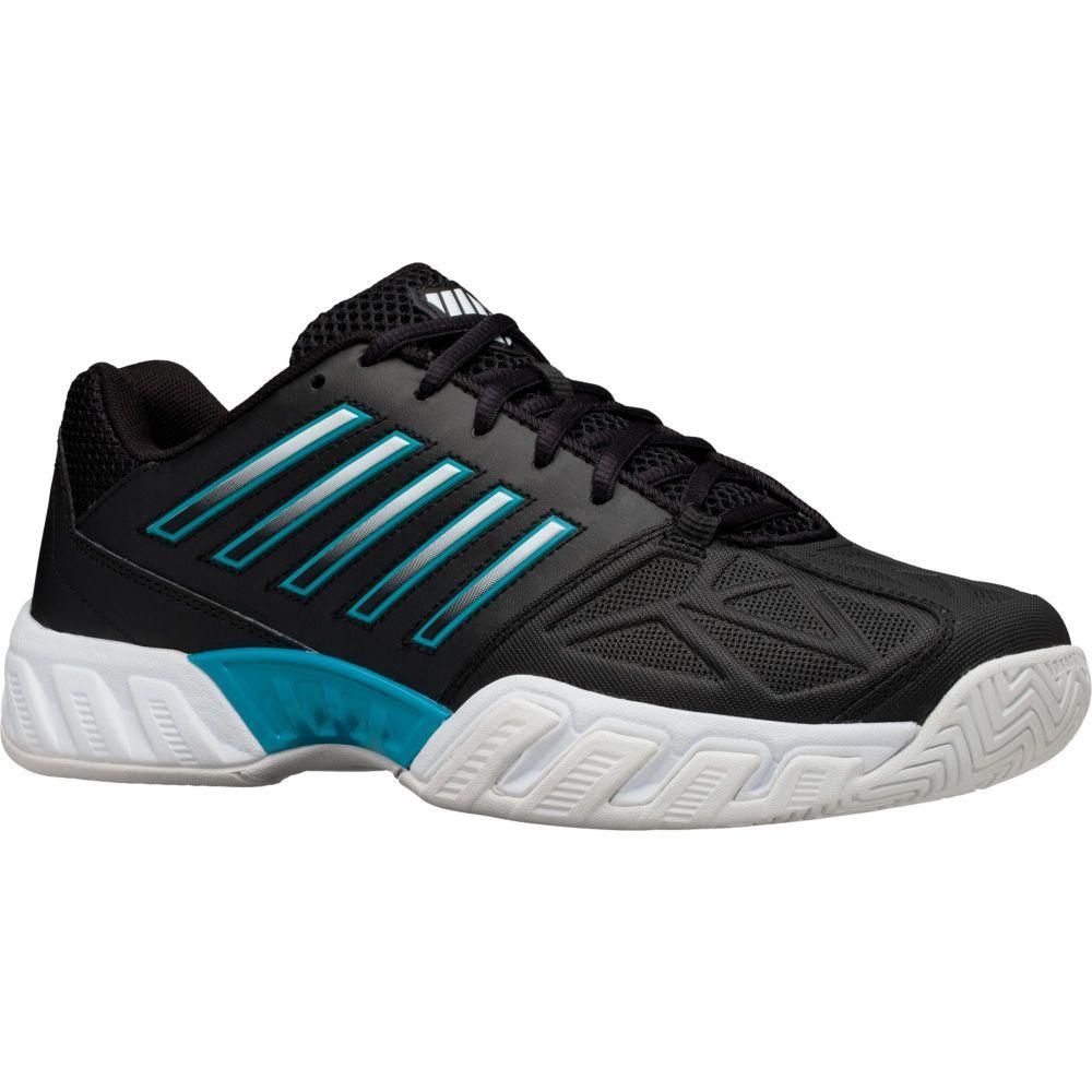 ケースイス K-Swiss メンズ テニス シューズ・靴【Bigshot Light 3 Tennis Shoes】Black/White/Blue