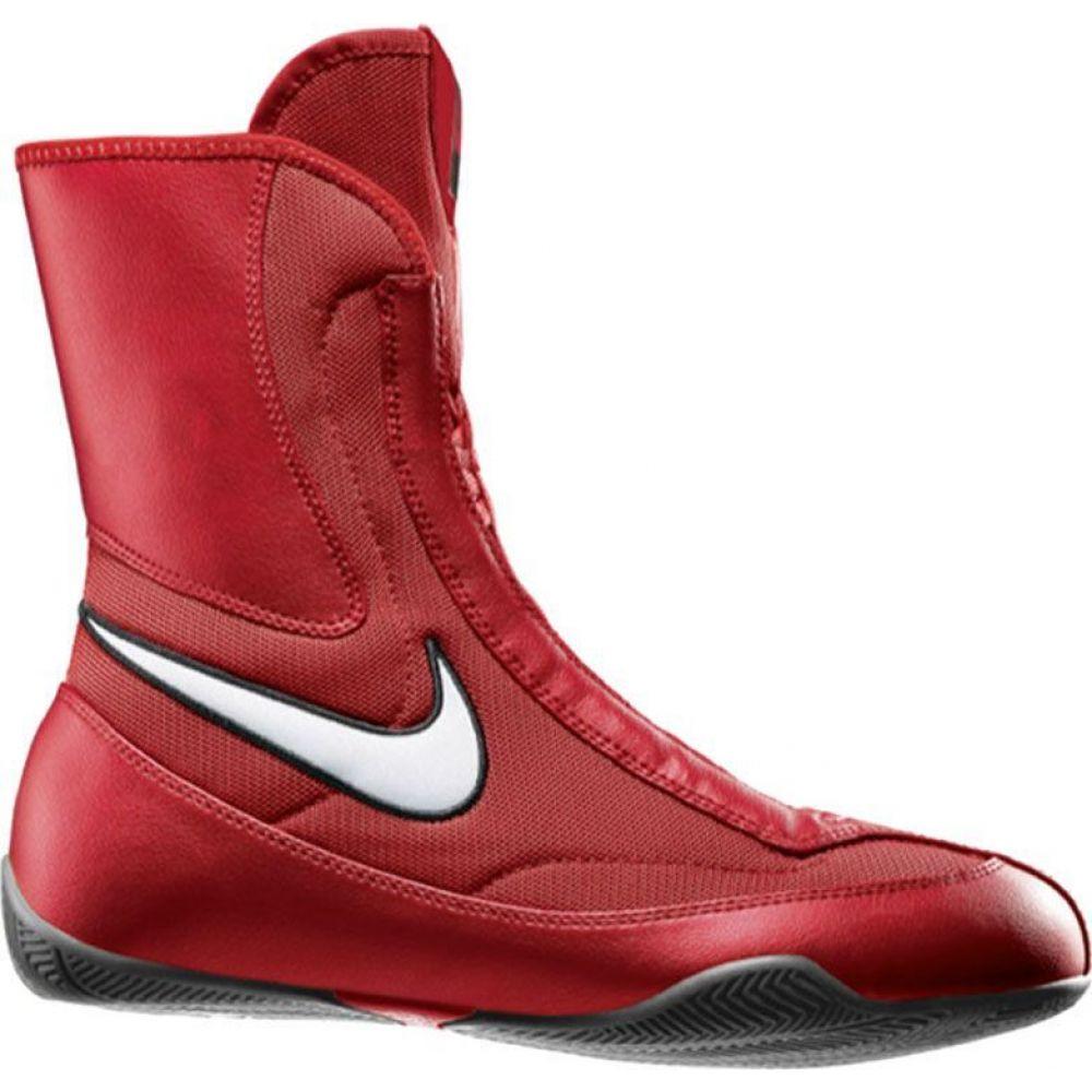 ナイキ Nike メンズ シューズ・靴 【Machomai Mid Boxing Shoes】Red/White