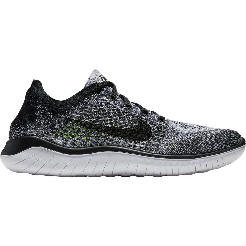 ナイキ Nike メンズ ランニング・ウォーキング シューズ・靴【Free RN Flyknit 2018 Running Shoes】Black/White/Black