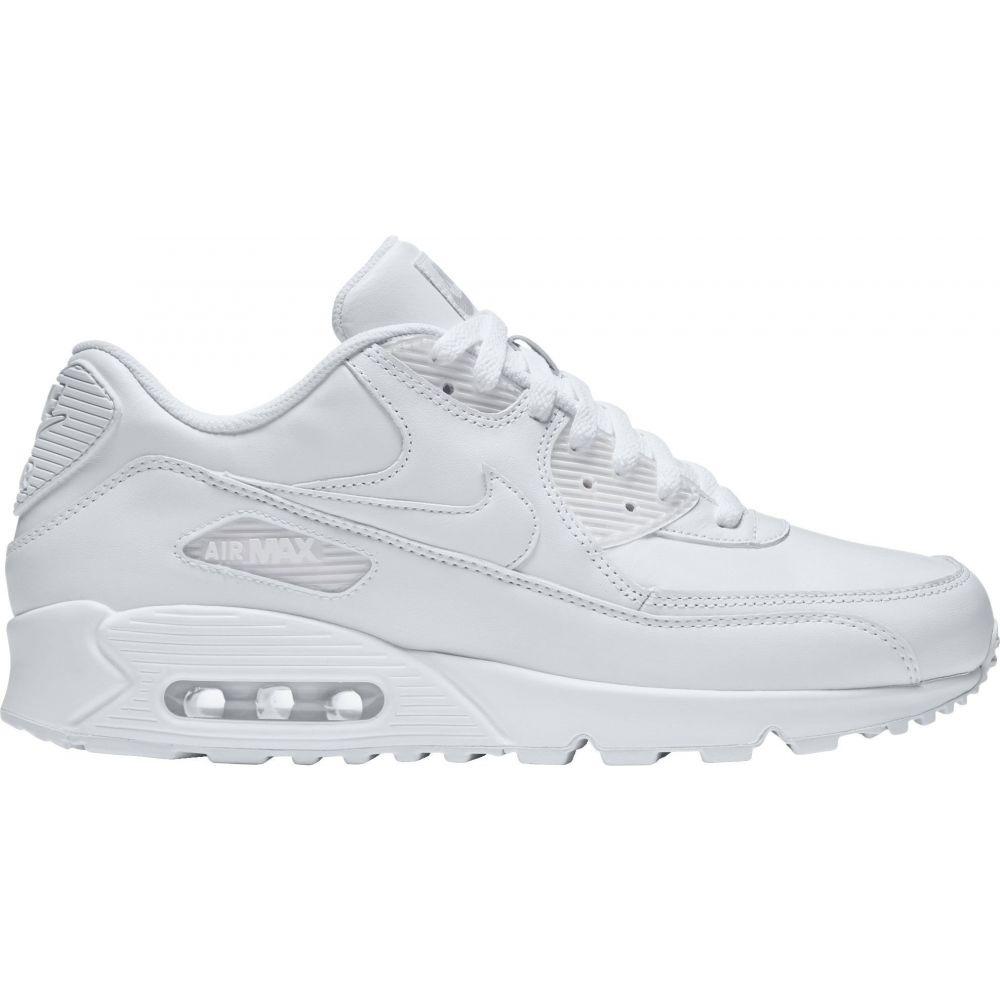 ナイキ Nike メンズ スニーカー シューズ・靴【Air Max '90 Leather Shoes】White/White