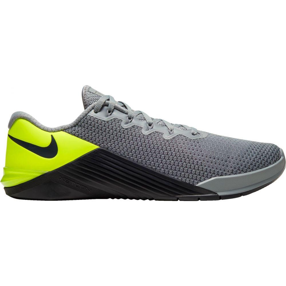 ナイキ Nike メンズ フィットネス・トレーニング シューズ・靴【Metcon 5 Training Shoes】Grey/Volt/Black