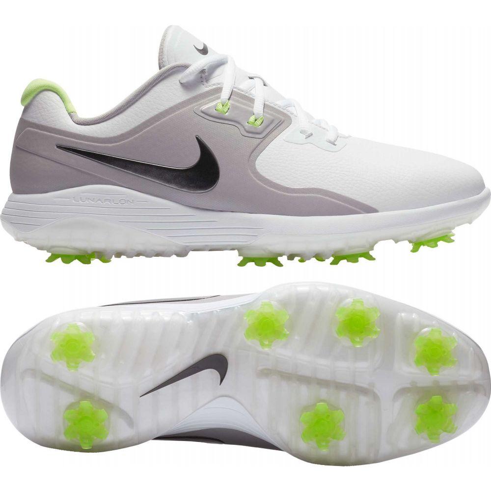 ナイキ Nike メンズ ゴルフ シューズ・靴【Vapor Pro Golf Shoes】White/Med Grey/Volt Glow